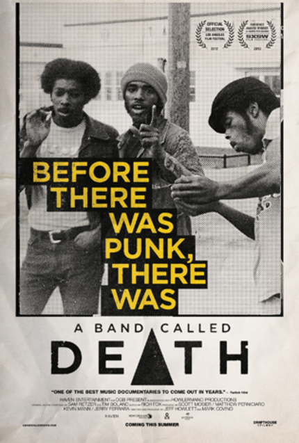 Fresh Poster For Unforgettable Festival Favorite A BAND CALLED DEATH Tells The Truth
