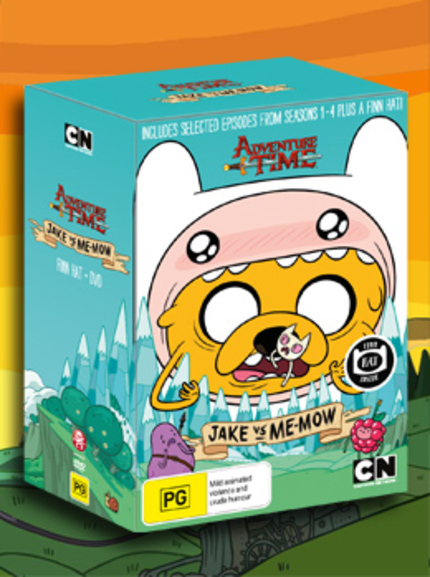 Hey Australia! Win A Sweet Hat And ADVENTURE TIME COLLECTION 3!