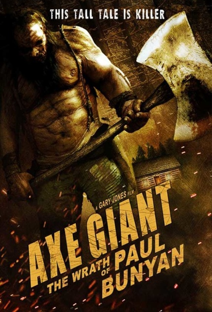 The AXE GIANT Comes A-Chopping.