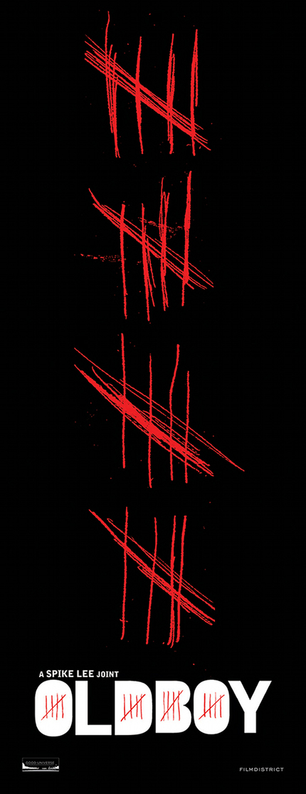 First Poster For Spike Lee's OLDBOY Is Counting The Days