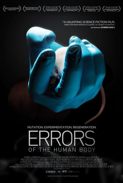 US Trailer And Fresh Stills For Eron Sheean's ERRORS OF THE HUMAN BODY