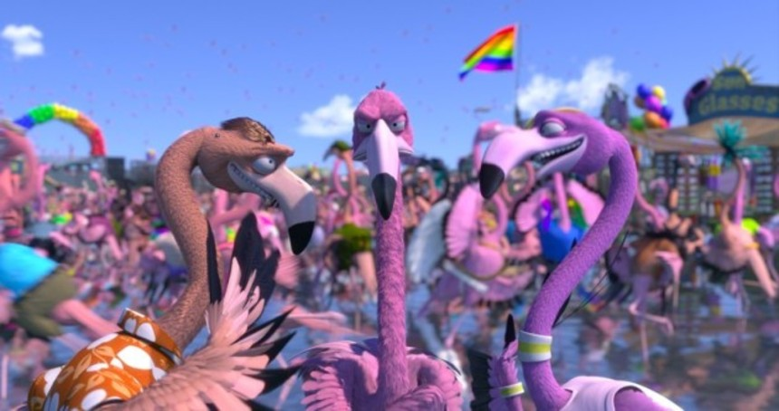 Watch Hilarious Animated Short FLAMINGO PRIDE