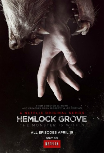 Gore Hounds Rejoice. HEMLOCK GROVE Clip Reveals Bloody Brutality