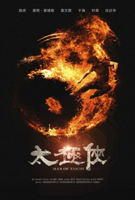 First Poster and Stills for Keanu Reeves' MAN OF TAI CHI