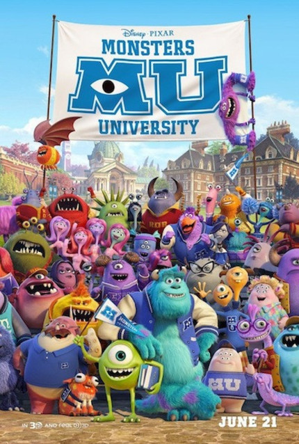 Review: MONSTERS UNIVERSITY Reunites Us with Old Friends