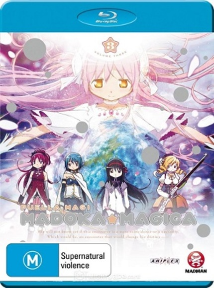 Now on Blu-ray in Australia: PUELLA MAGI MADOKA MAGICA is a Magical Magical Girl Anime
