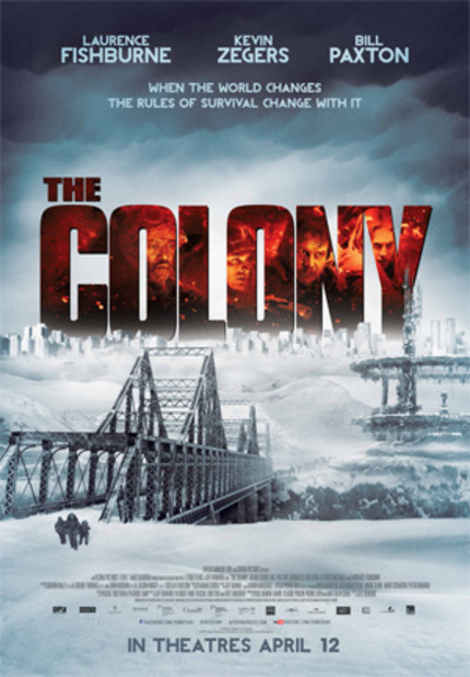 Interview: Talking THE COLONY With Kevin Zegers and Director Jeff Renfroe