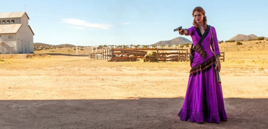 January Jones Shoots A Lot of Bad Folks in SWEETWATER Trailer