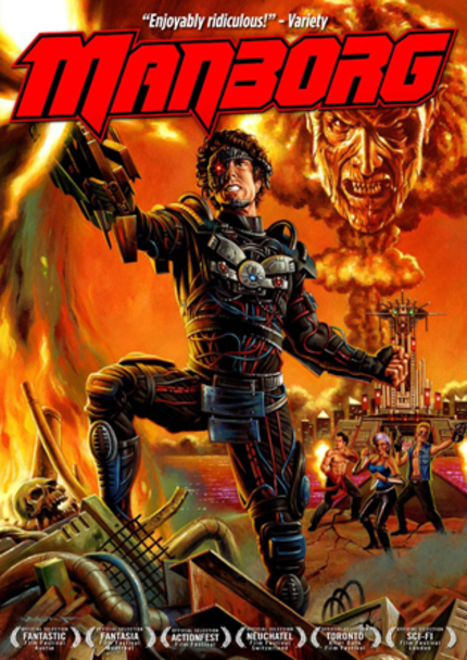 Now on DVD: MANBORG Brings Retro-Future Sci-Fi Into Your Home!