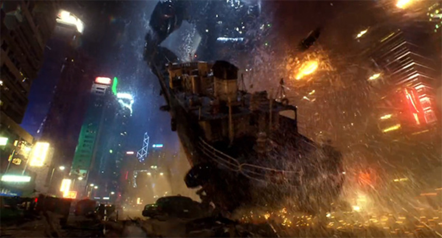 New PACIFIC RIM Wondercon Trailer Shows Robots Beating Monsters With Boats
