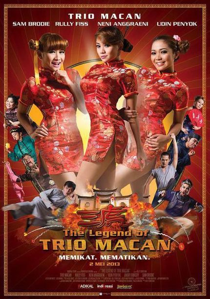 Pop Singers! Kung Fu! Glamor Shots! It's THE LEGEND OF TRIO MACAN!