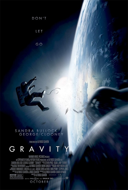 Clooney and Bullock Lost in Space in Terrifying First GRAVITY Teaser