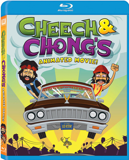 Contest: Win One of 2 Copies Of CHEECH AND CHONG'S ANIMATED MOVIE On Blu-ray