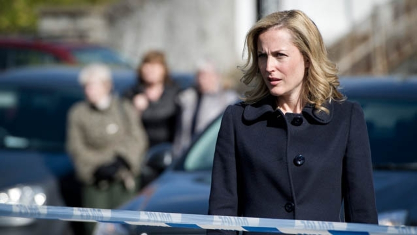 Agent Scully Tracks A Killer In Irish Series THE FALL