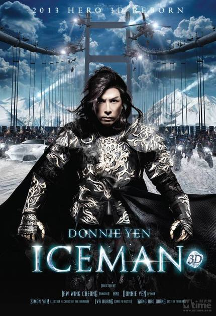 Donnie Yen Cometh In ICEMAN 3D. Watch The Trailer Now!