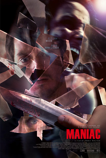 Elijah Wood Carves Through US Poster And Trailer For MANIAC