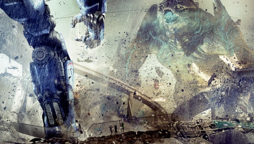 Normal Banners Aren't Big Enough For PACIFIC RIM.