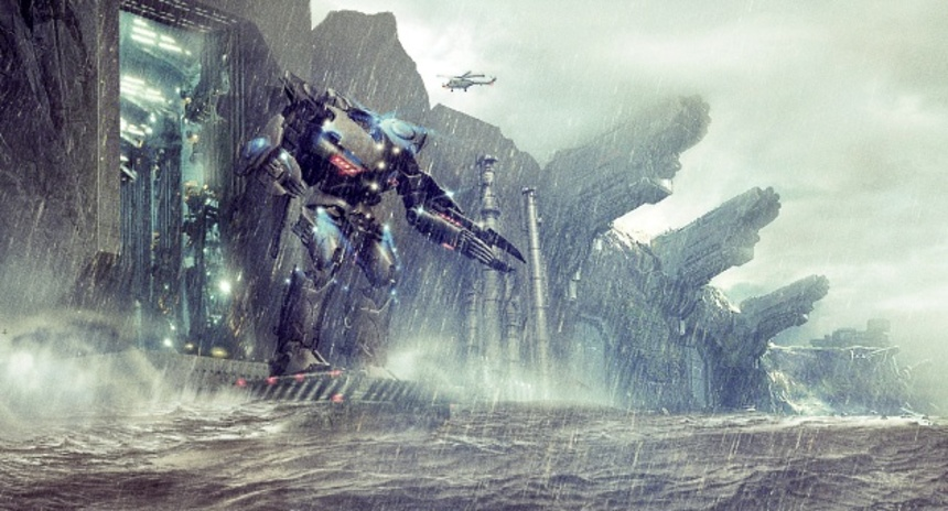 Big Time Monster Fighting Action In Main PACIFIC RIM Trailer