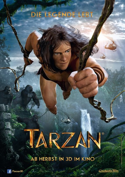 Second Teaser For Animated Film TARZAN 3D