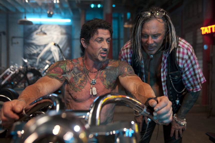 Mickey Rourke Is Back In THE EXPENDABLES 3