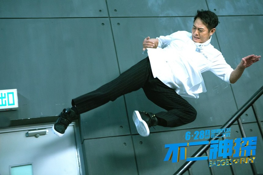 Jet Li Soars Into Action In BADGES OF FURY Trailer