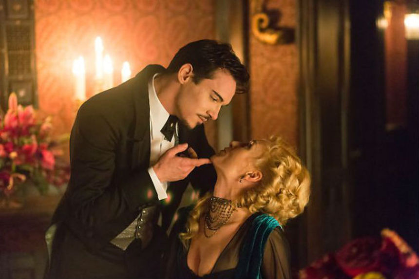 TV DRACULA Trailer Aims For Atmosphere, Romance, And A Little Blood