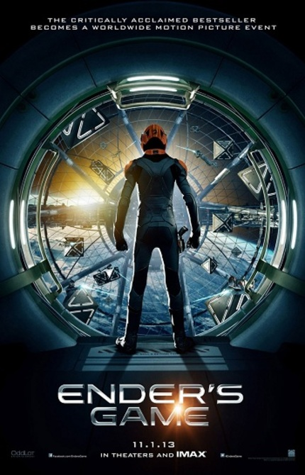 First Look at Harrison Ford Sci-Fi Flick ENDER'S GAME