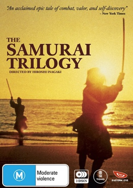 Hey Australia! We Have Even More Slice And Dice To Give Away With THE SAMURAI TRILOGY As We Celebrate Toho Month At ScreenAnarchy