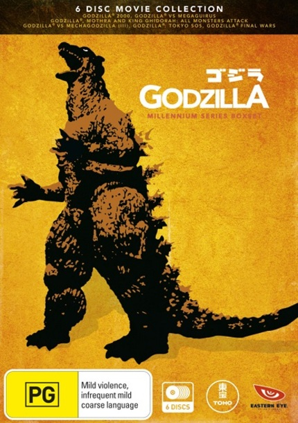 Hey Australia, Win A GODZILLA MILLENIUM SERIES Boxset As We Celebrate Toho Month At ScreenAnarchy!