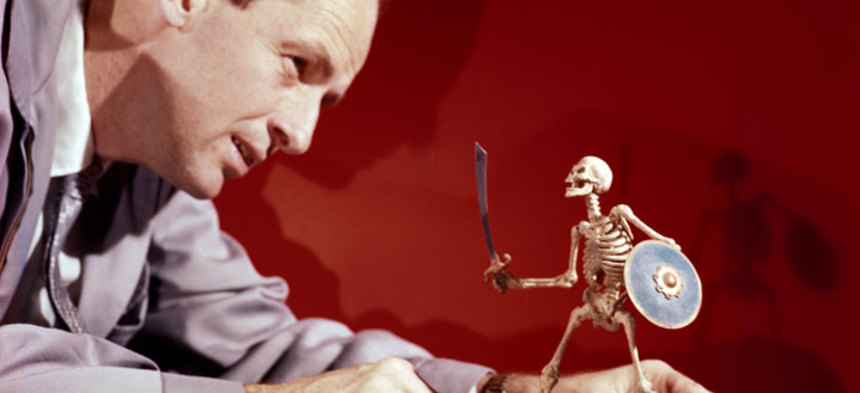 The World Is Less Fantastic Today. RAY HARRYHAUSEN 1920-2013