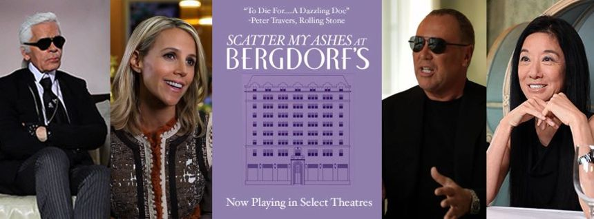 Review: SCATTER MY ASHES AT BERGDORF'S Glories In Rare Luxury