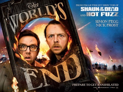 Hoist Another Pint With The US Trailer For Edgar Wright's THE WORLD'S END