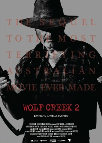 WOLF CREEK 2 Sales Poster Inspired By EVIL DEAD Reboot