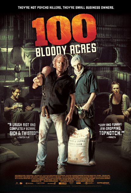 Giveaway: Win Yerself 100 BLOODY ACRES, Y'all!! On DVD.