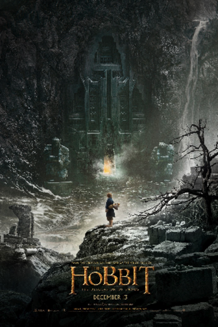 The Epic Adventure Continues With The First Poster For THE HOBBIT: THE DESOLATION OF SMAUG