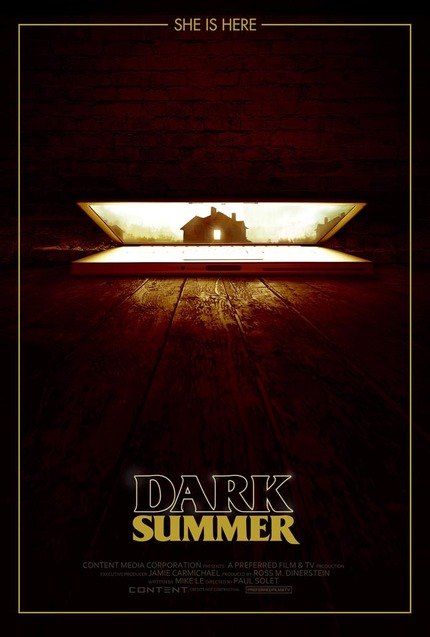 Check The First Artwork For Paul Solet's DARK SUMMER