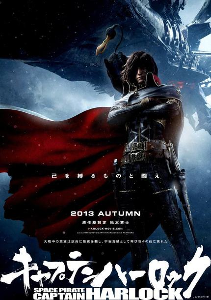 Watch The Extended Third Trailer For SPACE PIRATE CAPTAIN HARLOCK
