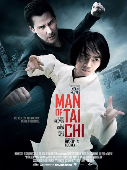 Watch The Making Of A Fight Scene In Keanu Reeves' MAN OF TAI CHI