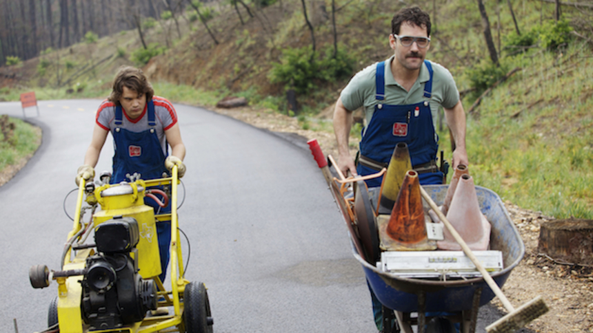 Paul Rudd And Emile Hirsch Make Quite The Odd Couple In The Trailer For PRINCE AVALANCHE