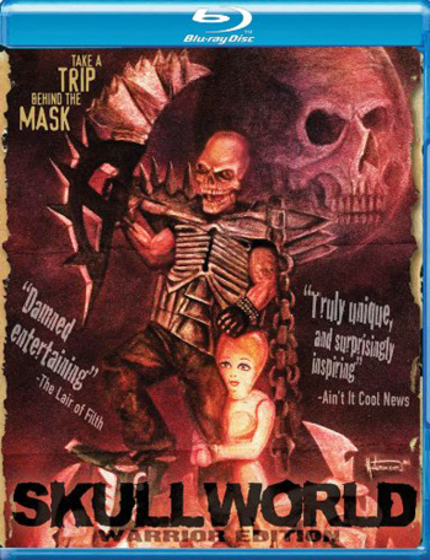 Blu-ray Review: SKULL WORLD! Skullman Rocks Large on Blu-ray
