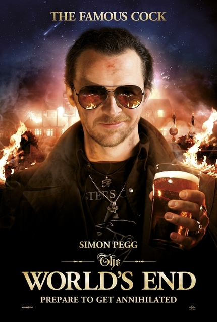 Character Posters for THE WORLD'S END Reveal Designated Pubs