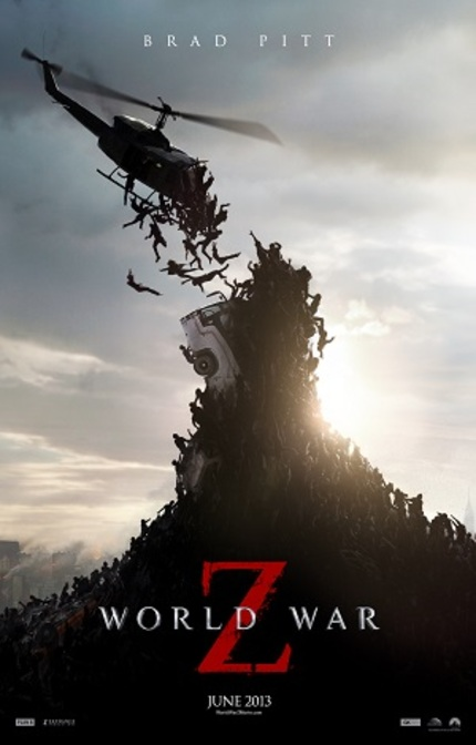 Review: WORLD WAR Z aka Zombies With Brad Shuffles, Stumbles, Drops Dead