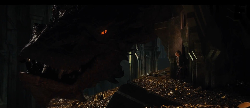 Smaug Rises in Teaser Trailer for THE HOBBIT: DESOLATION OF SMAUG