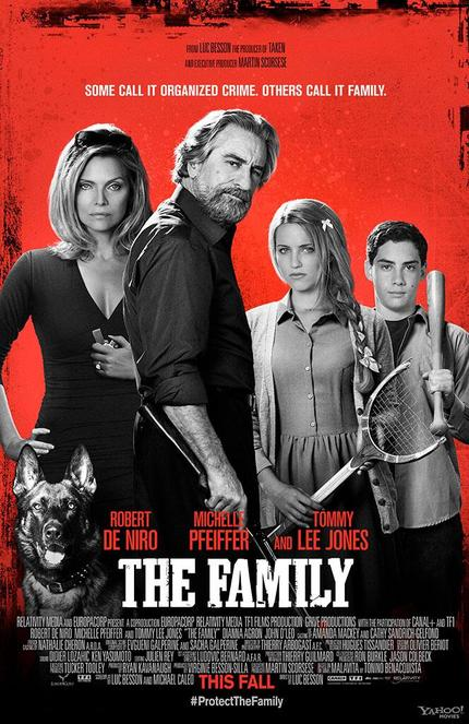 Luc Besson Has Never Been Funny. That Doesn't Stop Him From Trying With THE FAMILY.