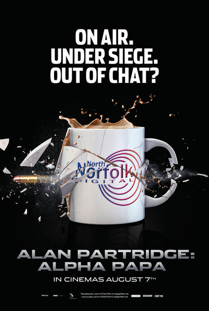 New TV Spot, Two Clips And A Lesson In Cinema Etiquette From ALAN PARTRIDGE: ALPHA PAPA