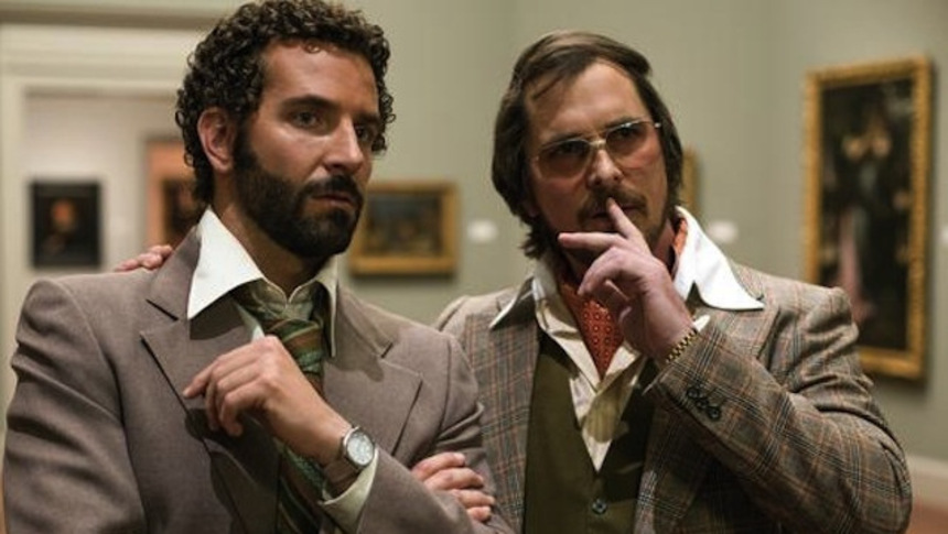 Bradley Cooper And Christian Bale's Ridiculous Hair Star In First AMERICAN HUSTLE Trailer
