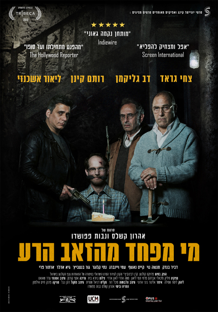 Theatrical Poster For Israeli Thriller BIG BAD WOLVES Takes A Bow