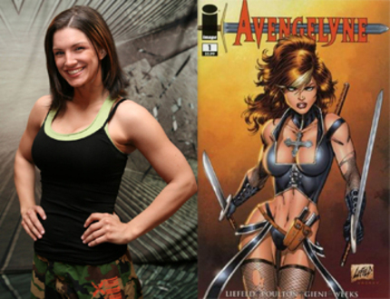 Gina Carano Joins Rob Liefeld To Bring AVENGELYNE To Big Screen