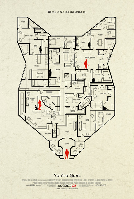 Latest YOU'RE NEXT Poster Maps An Escape From Comic Con