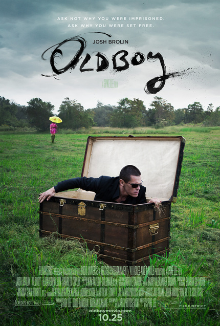 First Bloody, Red-Band OLDBOY Trailer Picks Up The Hammer
